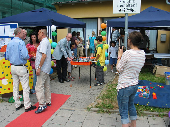 Eröffnung der BÜSO Bürgertreffs
